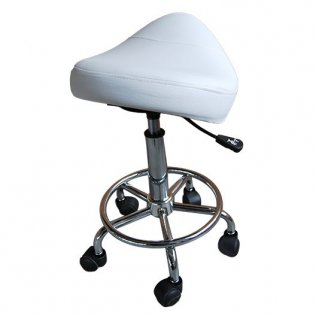 Adjustable Massage Saddle - White