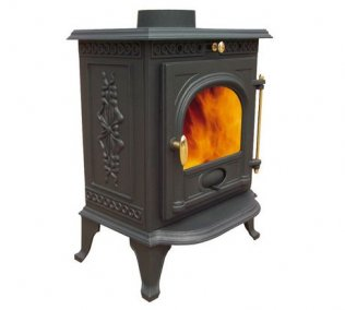 6.5kw Cast Iron Multi-fuel Wood Burning Stove