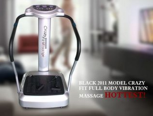 1000w Crazy Fit Full Body Vibration Plate