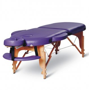2 Section Portable Massage Table - Purple