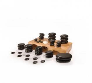 50pc Deluxe Hot Stone Set