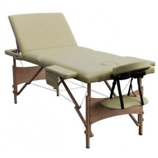 3 Section Portable Massage Table - Sand