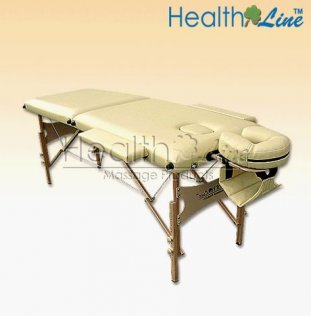 2 Section Light Weight Professional Massage Table with Headrest