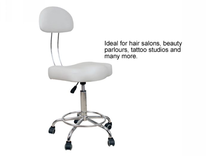 Professional Therapist's Chair - White